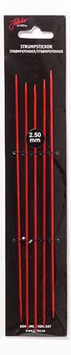 Strumpstickor Röd