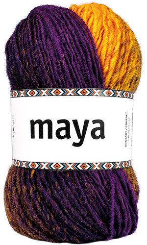 Mayas Sjal - Stick-kit utan stickor